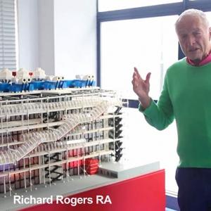 تصویر - مصاحبه ای کوتاه با ریچارد راجرز با نشریه تخصصی architecturalrecord - معماری