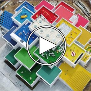 عکس - Inside the incredible LEGO House with architect Bjarke Ingels