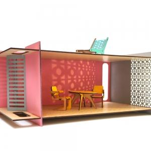 تصویر - تخیل و بازی با اسباب بازیهای معمارانه - معماری