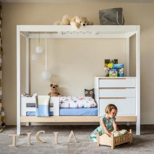 تصویر - تخت خوابی که همراه با کودک شما رشد می کند. - معماری