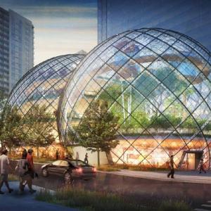 تصویر - معماری ویژه و محیط جذاب مرکز اداری آمازون در سیاتل - معماری