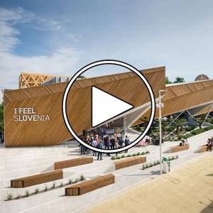 تصویر - پاویون اسلونی , اکسپو میلان 2015 ( Expo Milano 2015 Slovenian Pavilion ) - معماری