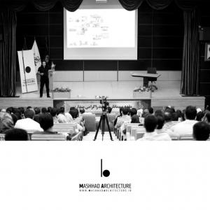 عکس - فصل اول , گفتمان اول , فرآیند طراحی معماری , سخنرانی هومن بالازاده