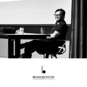 عکس - فصل اول , گفتمان دوم , فرآیند طراحی جزء به کل , سخنرانی آرین حکیمی نژاد