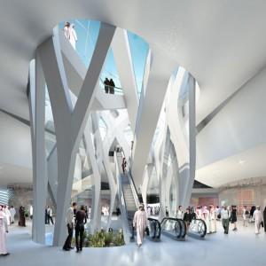 تصویر - موزه هنر مدرن خاورمیانه ، اثر شرکت UNStudio , امارات متحده عربی - معماری