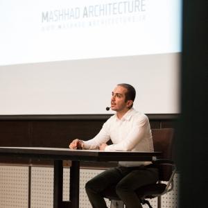 تصویر - فصل اول , گفتمان سوم , فرآیند طراحی مسابقات معماری , سخنرانی نیما مکاری - معماری