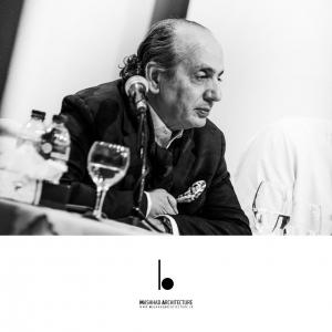 عکس - فصل دوم , گفتمان سوم , سخنراني هادي طهراني و كريستوف ووپ