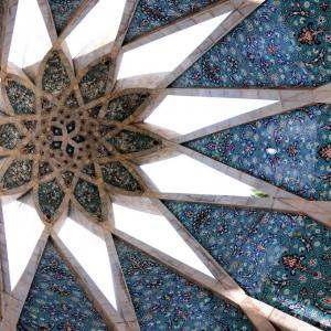 تصویر -  آرامگاه عمرخیام , اثر معمار هوشنگ سیحون , نیشابور - معماری