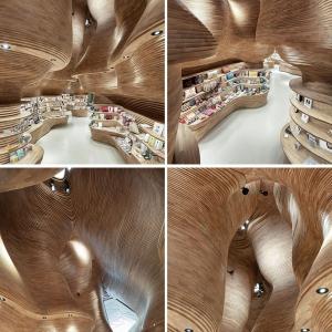 تصویر - گیفت شاپ موزه ملی قطر رابا هم ببینیم. - معماری