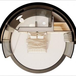 تصویر - اقامتی بی نظیر را در این کابین کوچک تجربه کنید. - معماری