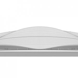 تصویر - افتتاح اولین استادیوم جام جهانی 2022 قطر - معماری