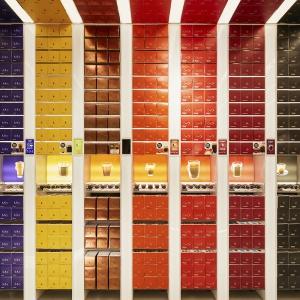 تصویر - فروشگاه آینده ساخته شده از کپسولهای قهوه - معماری