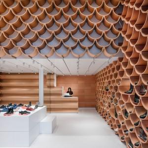 تصویر - طراحی یک فروشگاه کفش - معماری