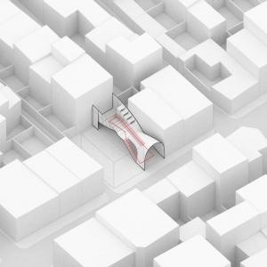 تصویر - درنگ گاه جوادیه ( Javadieh Pavilion ) , اثر تیم طراحی کاترین اسپریدونف ، رضا دانشمیر , تهران  - معماری