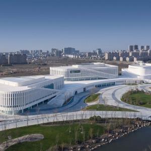 عکس - مرکز فرهنگی Rudong , اثر تیم طراحی TJAD , چین