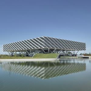 عکس - Adidas World of Sports Arena , اثر تیم طراحی Behnisch Architekten , آلمان