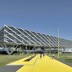 تصویر - Adidas World of Sports Arena , اثر تیم طراحی Behnisch Architekten , آلمان - معماری