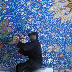 تصویر - روایت حسین تنکابنی از طراحی داخلی حرم سید الشهدا - معماری
