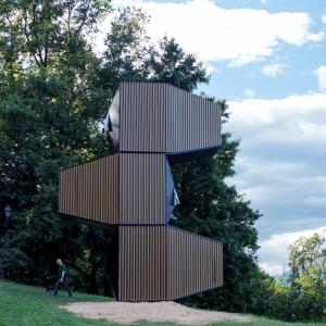 تصویر - خانه مدولار , اثر استودیوی اسلوونیایی OFIS Arhitekti , اسلوونی ( لیوبلیانا ) - معماری