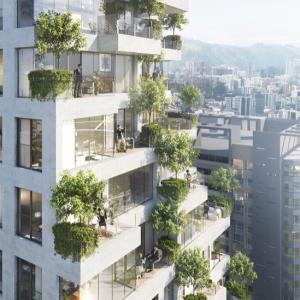 تصویر - برج مسکونی Qorner , اثر استودیو طراحی Safdie Architects , اکوادور - معماری