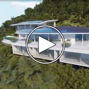 تصویر - ویلا Tropicbird , بنایی بر فراز 115 متری آب های اقیانوس هند , جزیره Mahe , سیشل - معماری