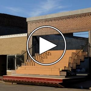 تصویر - تئاتر Storefront , اثر Matthew Mazzotta , ایالت نبراسکا , آمریکا  - معماری