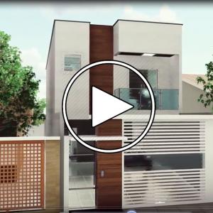 عکس - خانه CASA GEMINADA DE ( زمین با ابعاد 5متر و 13متر )
