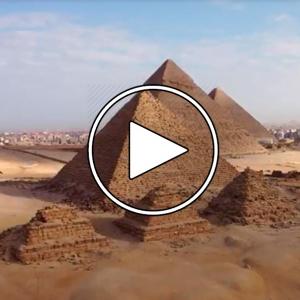 تصویر - اهرام ثلاثه مصر , شهر جیزه ( Giza ) - معماری