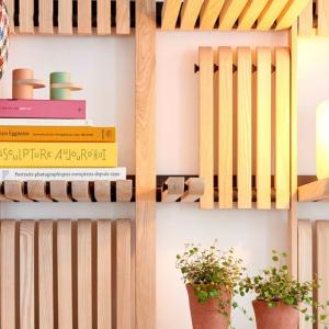 عکس - قفسه های دیواری قابل تغییر GATE , اثر معمار Artem Zakharchenko-Halytskyi
