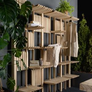 تصویر - قفسه های دیواری قابل تغییر GATE ، اثر معمار Artem Zakharchenko-Halytskyi - معماری