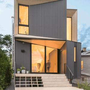 عکس - خانه Tesseract , اثر Jeff Geldart و استودیو PHAEDRUS , کانادا