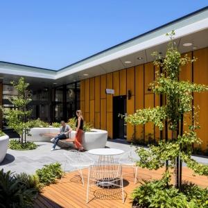 عکس - کتابخانه Parks Library , اثر تیم طراحی JPE Design Studio , استرالیا