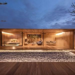 عکس - خانه ای مدرن the skyscape بر فراز یک بام , اثر مشاور طراحی WARchitect , بانکوک