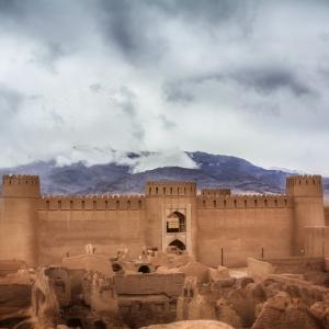 عکس - ارگ راین , یکی از بزرگترین بناهای خشتی جهان , استان کرمان