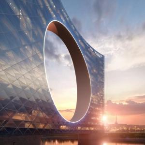 تصویر - Tower of the Sun , اثر تیم طراحی  Fundamental Architects و Omega Render , قزاقستان - معماری
