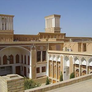 عکس - خانه تاریخی رسولیان ( دانشکده هنر و معماری دانشگاه یزد ) , دانشگاهی قاجاری در یزد