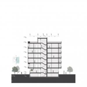 تصویر - ساختمان مسکونی سالاریه , اثر دفتر معماری هرم , قم - معماری