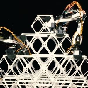 عکس - ساخت سازه های مدولار توسط ربات BILL-E موسسه فناوری ماساچوست (MIT)
