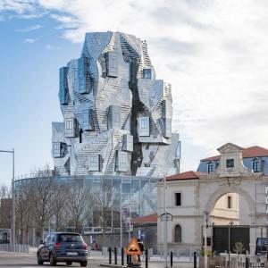 تصویر - برج Luma Arles ، اثر فرانک گهری (Frank Gehry) ، فرانسه - معماری