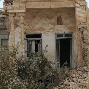 تصویر - بنای تاریخی ارباب علی یوسفزاده در شهر قم تخریب شد - معماری