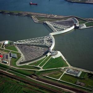 تصویر - تغییرات آب و هوایی , نگاهی به عظیمترین آببند ساحلی جهان در هلند - معماری