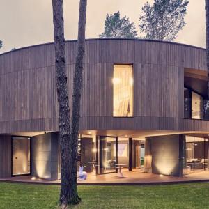عکس - خانه دایره شکل Izabelin ، اثر تیم طراحی Mobius Architekci ، لهستان