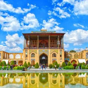 عکس - کاخ عالیقاپو (Ali Qapu Palace) ، شکوه معماری کاخ های عهد صفوی