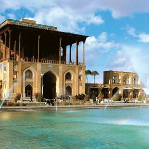 تصویر - کاخ عالیقاپو (Ali Qapu Palace) ، شکوه معماری کاخ های عهد صفوی - معماری