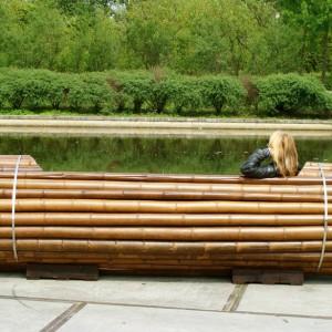 تصویر - نیمکت Pile Isle Bamboo ، اثر طراح Elena Goray ، آلمان - معماری