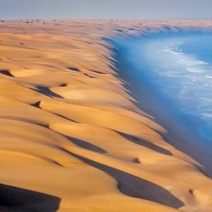 عکس - کویر ساحلی نامیب (Namib Desert) ، خواهر دوقلوی درک در آفریقا