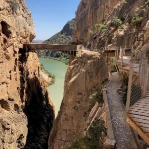 عکس - گذرگاه Caminito del Rey , خطرناک ترین گذرگاه دنیا در اسپانیا