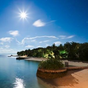 تصویر - هتل شناور و ساحلی lily beach resort , مالدیو , جزیره هوواهندو (Huvahendhoo) - معماری