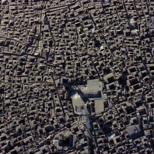 تصویر - مسجد جامع یزد , یکی از شاهکارهای هنر معماری ایران با بلندترین مناره جهان - معماری
