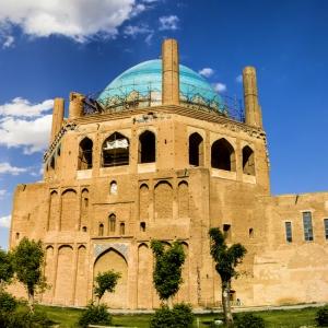 عکس - گنبد سلطانیه , سومین گنبد بزرگ جهان , زنجان
